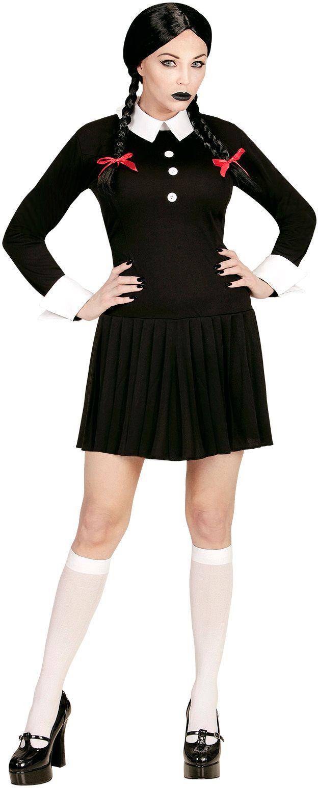 Schoolmeisje gothic jurk