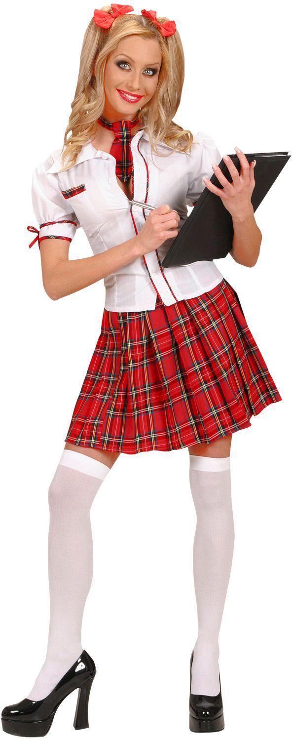 Schots schoolmeisje kostuum
