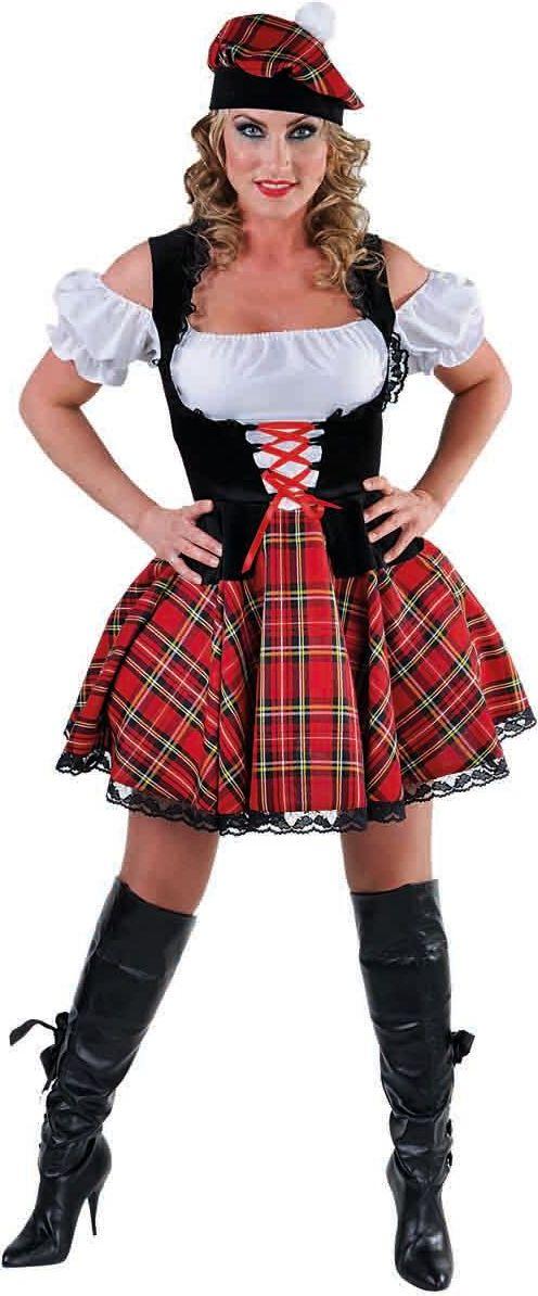 Schots vrouwen kostuum