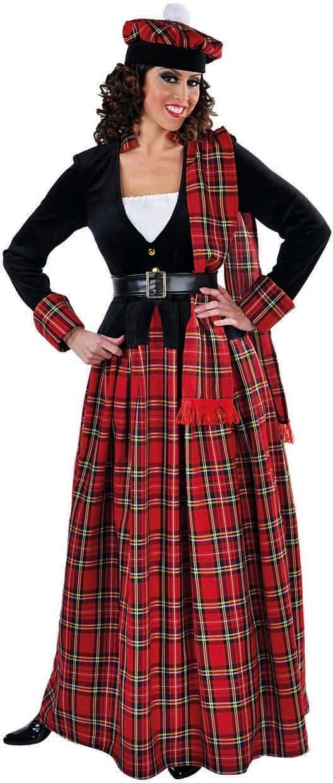 Schots vrouwen kostuum lang