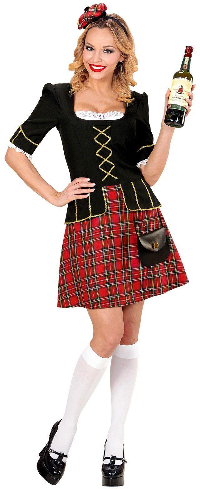 Schotse jurk dames