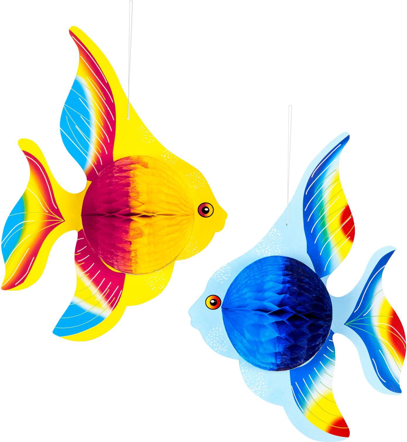 Set van 2 tropische vis honingraten