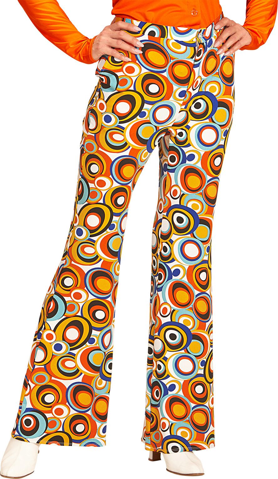 Seventies disco broek dames