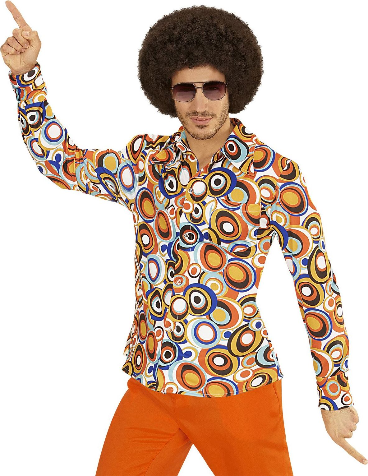 Seventies disco shirt