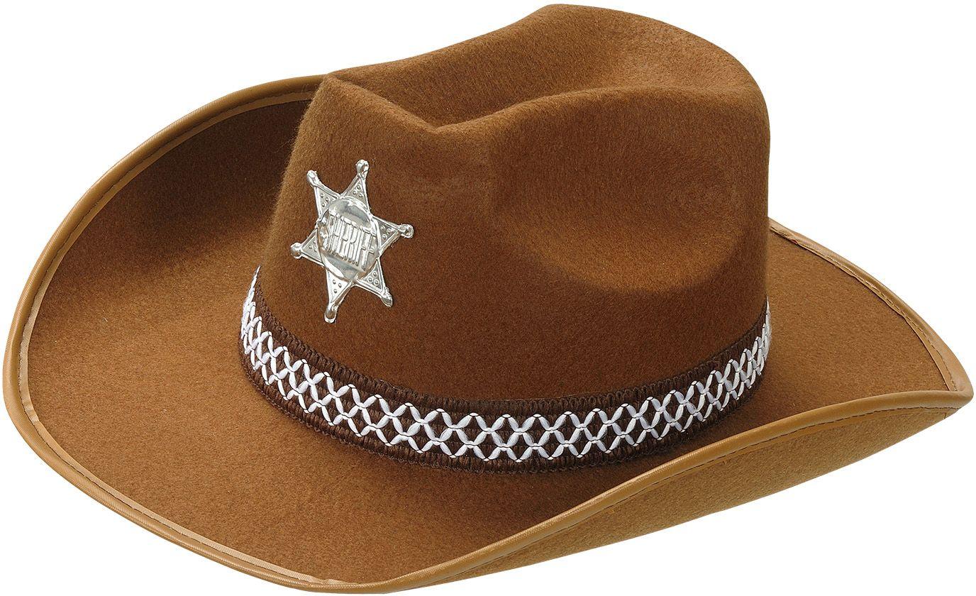 Sheriffhoed bruin