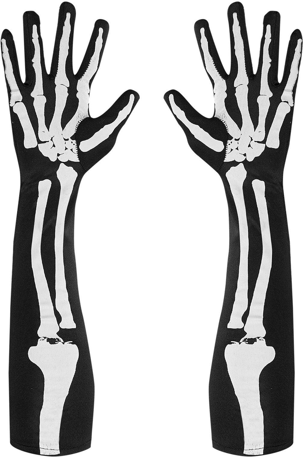 Skelet botten handschoenen One-size-volwassenen