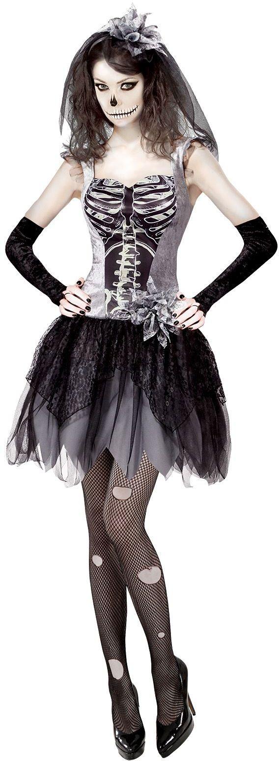 Skelet bruid jurk