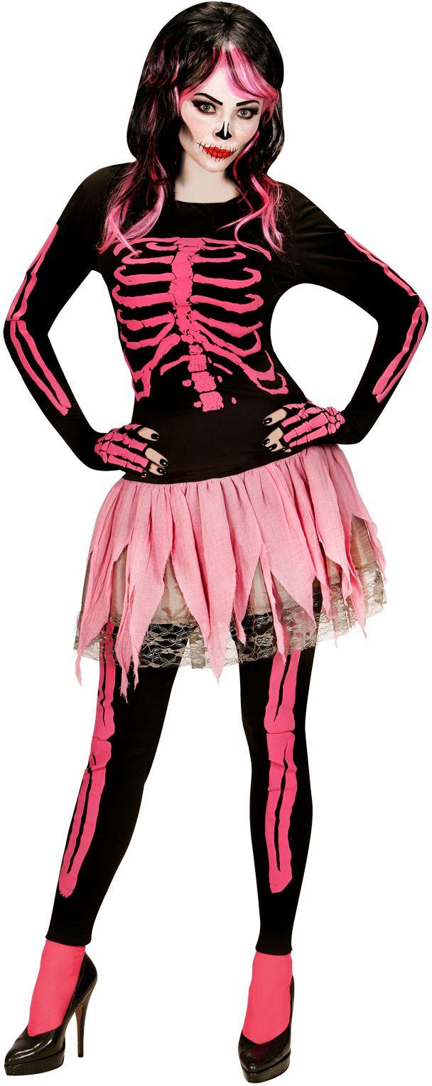 Skelet carnaval dames