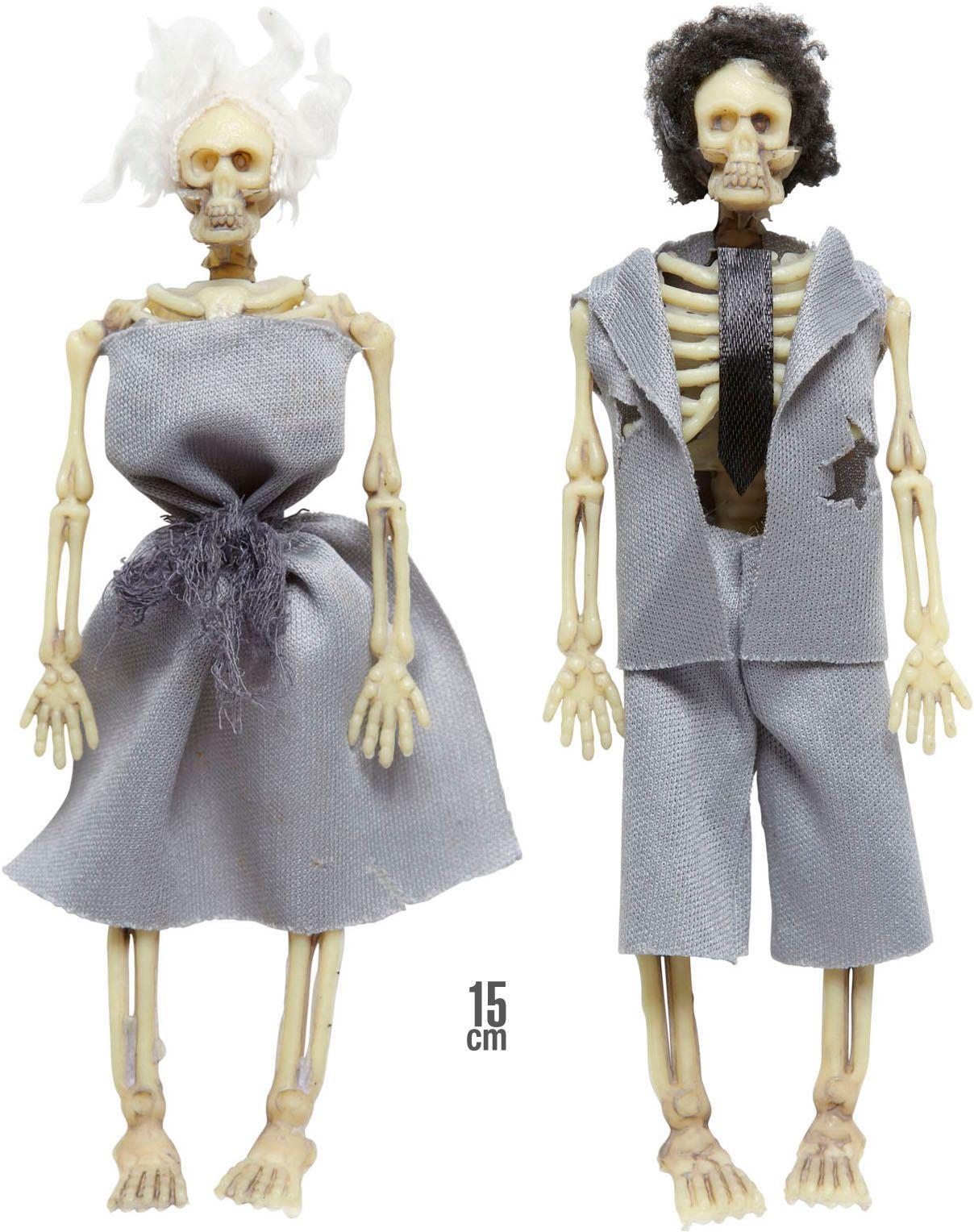 Skelet echtpaar versiering