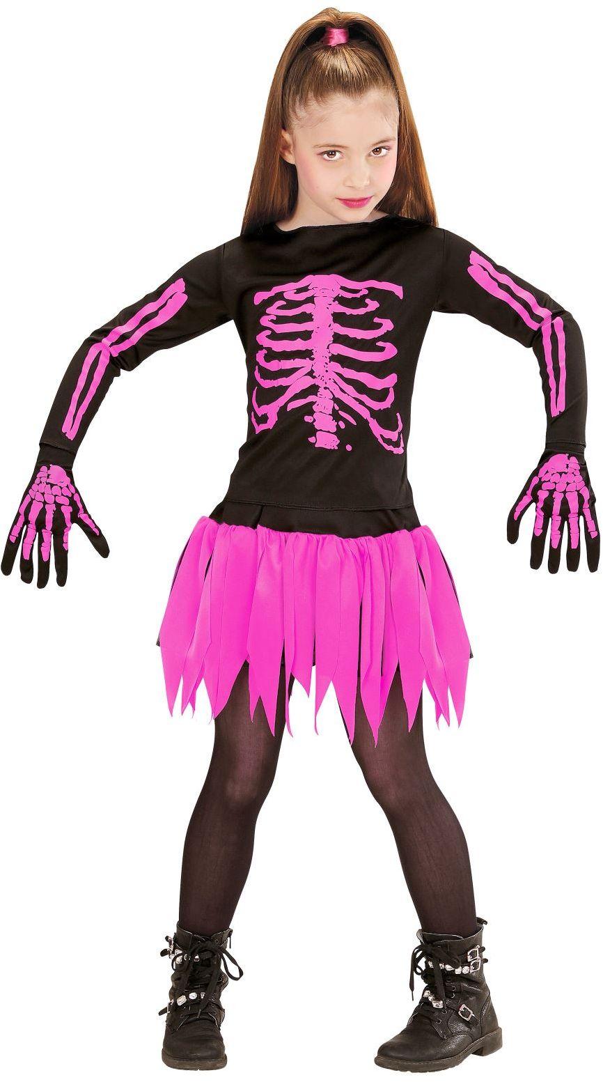 Skelet halloween kind