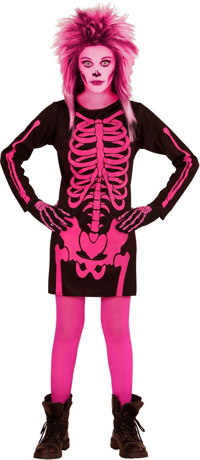 Skelet halloween kostuum