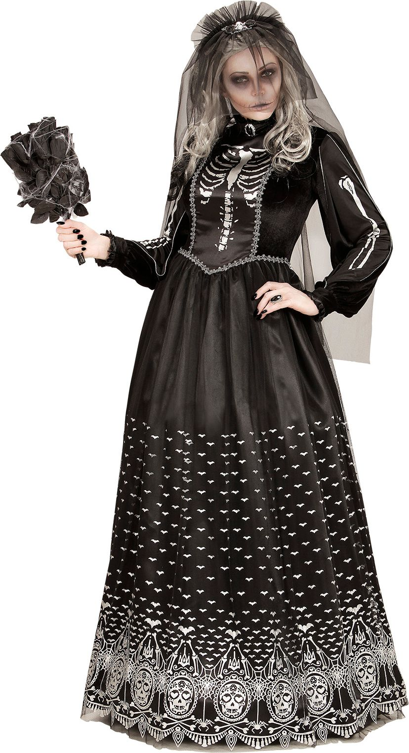 Skelet horror bruid