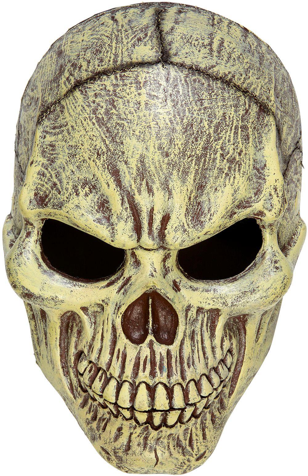 Skelet horror masker