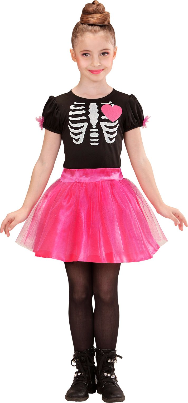 Skelet jurk kind