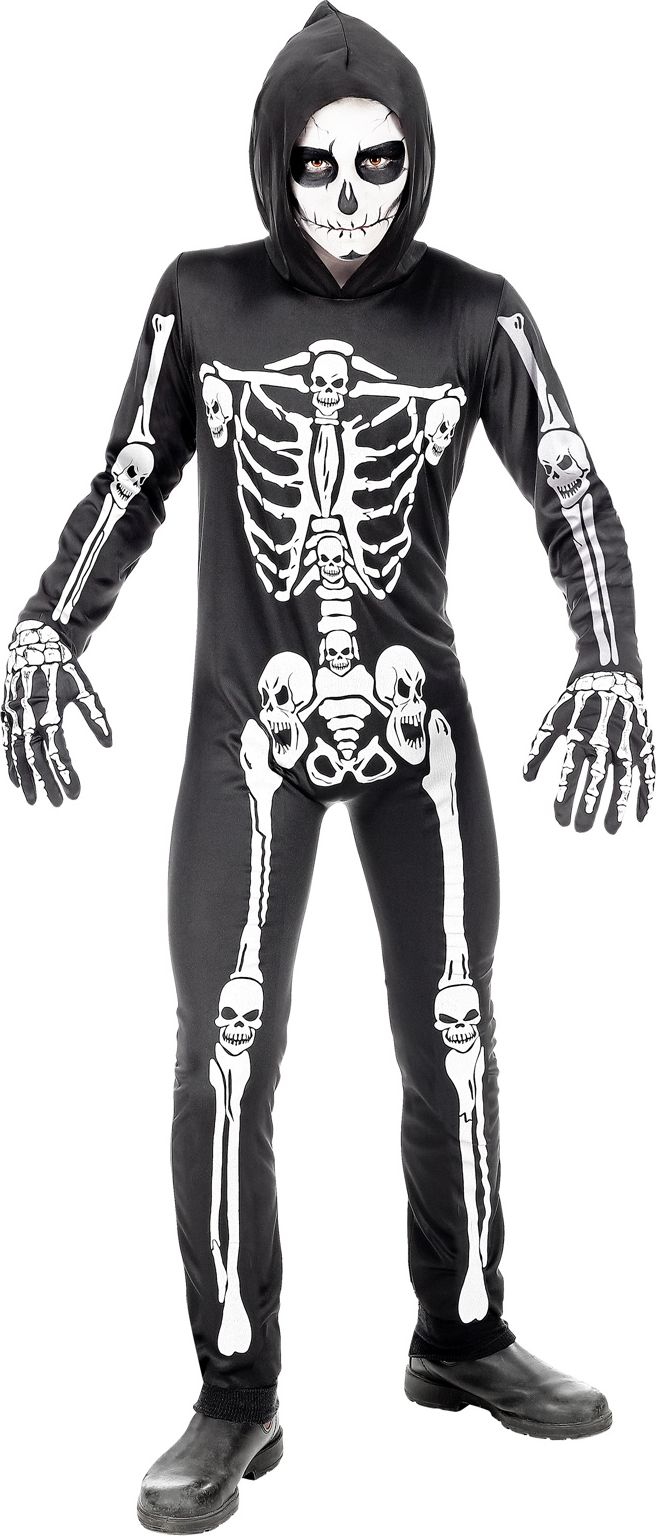 Skelet outfit halloween