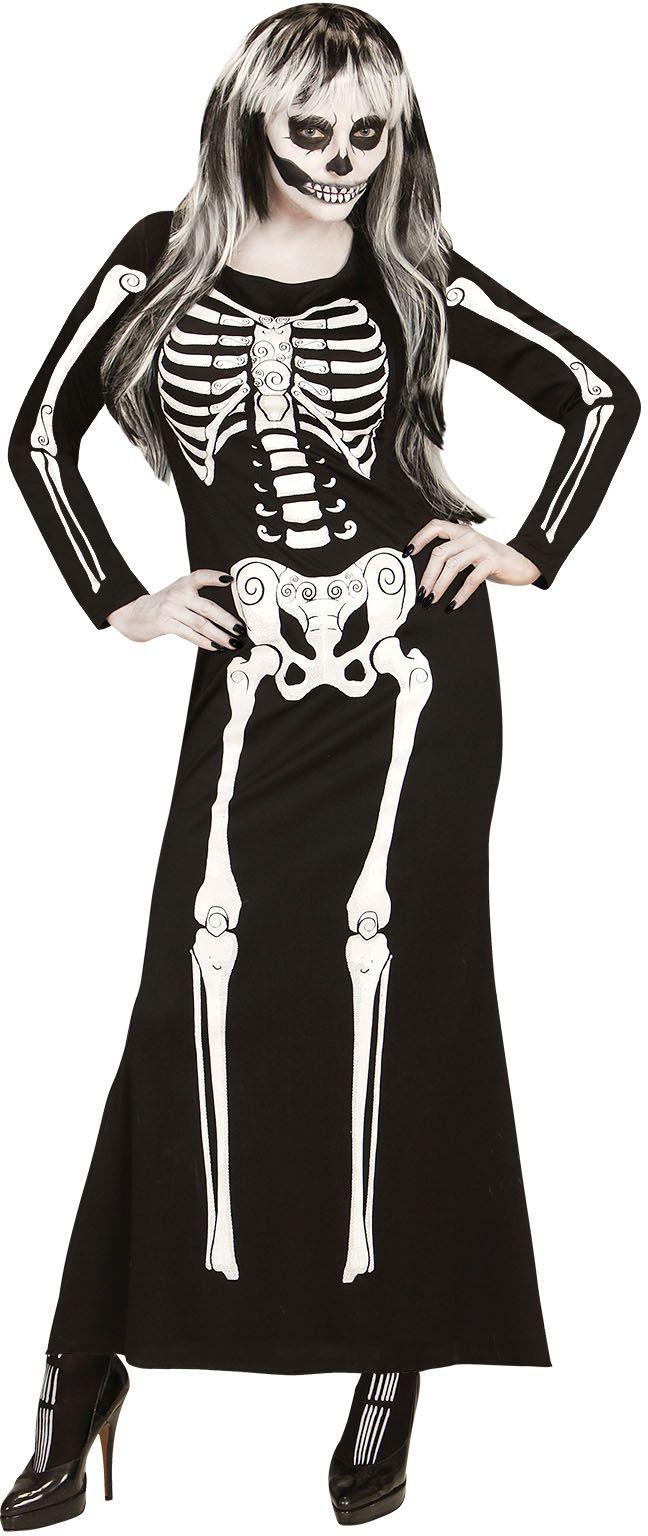 Skeletten jurk
