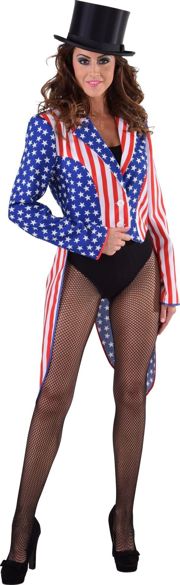 Slipjas dames amerikaanse vlag
