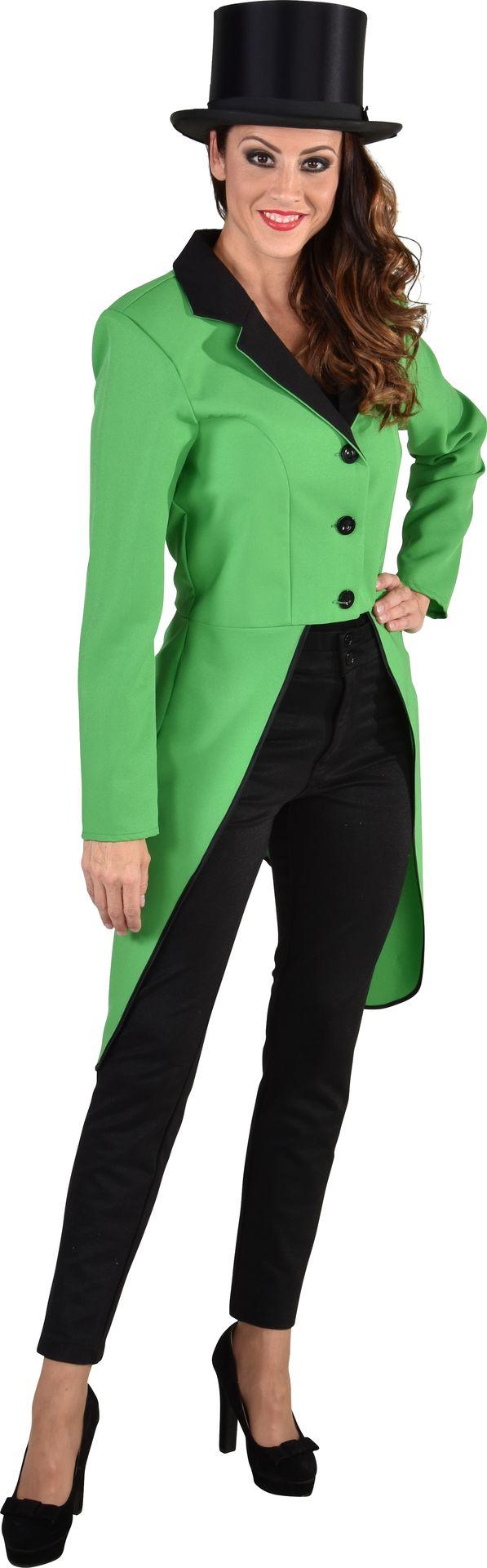 Slipjas dames groen
