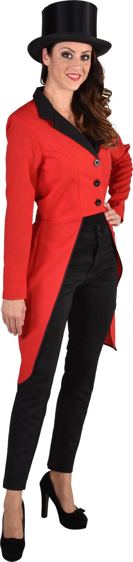 Slipjas dames rood