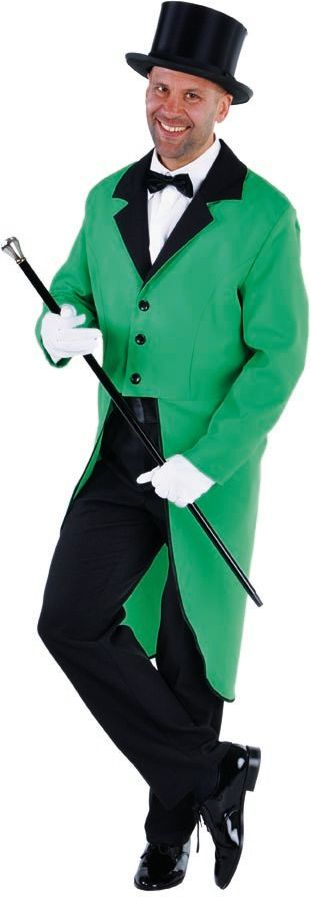 Slipjas heren groen