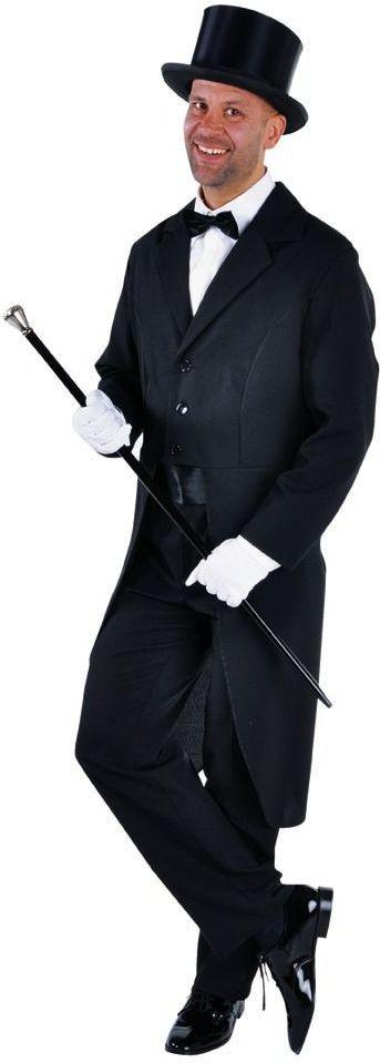 Slipjas heren zwart