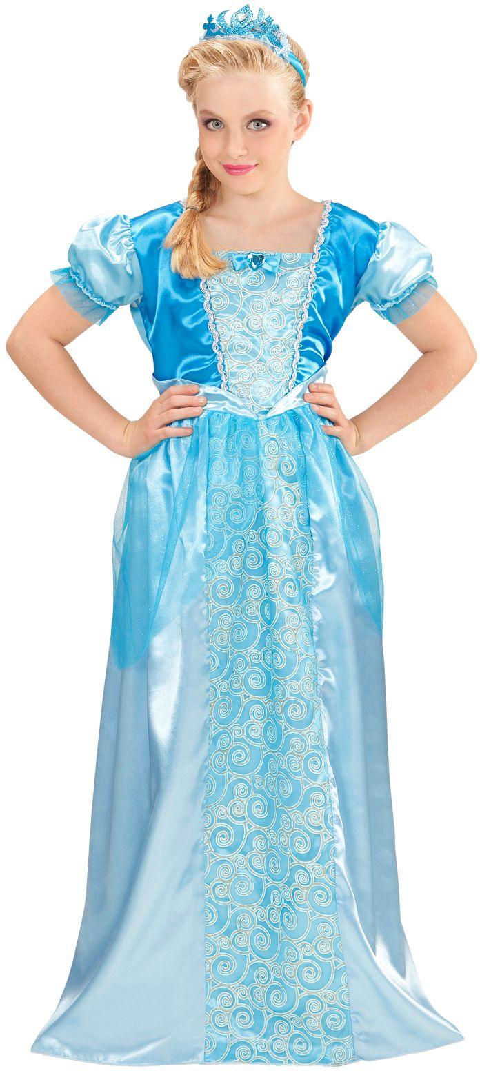 Sneeuw prinses kostuum