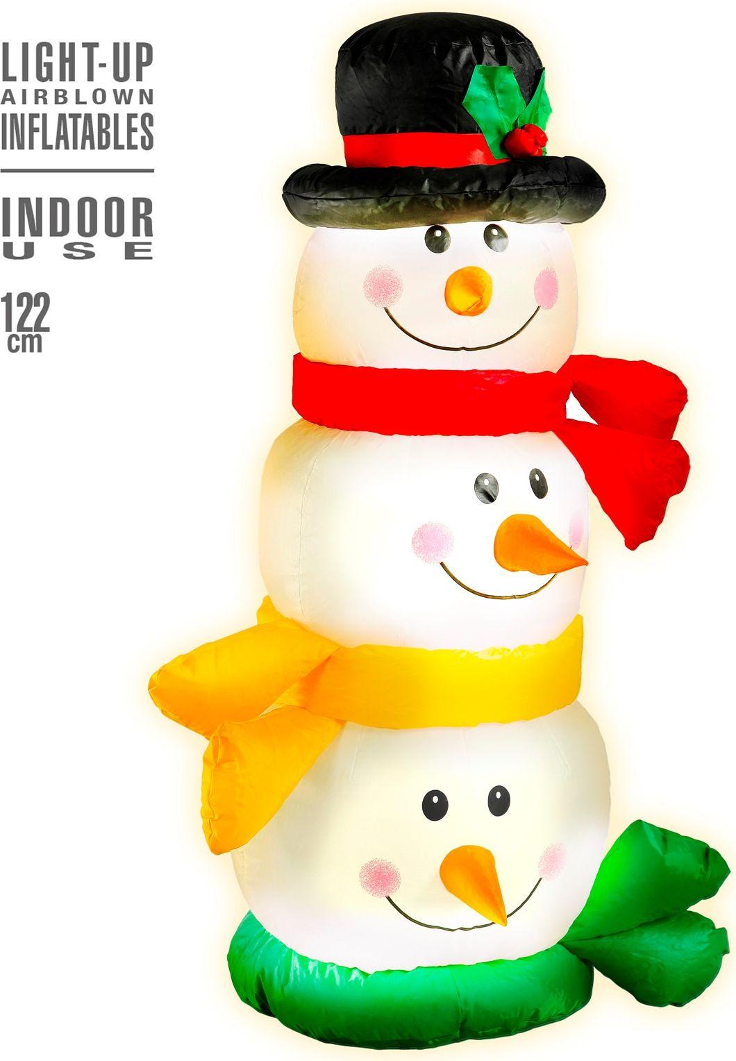 Sneeuwpop hoofden