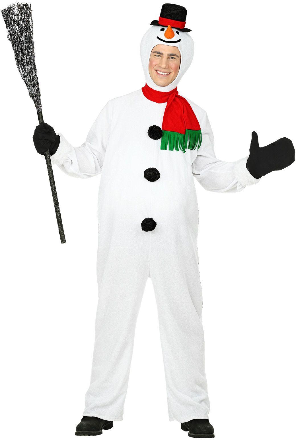 Sneeuwpop pak wit