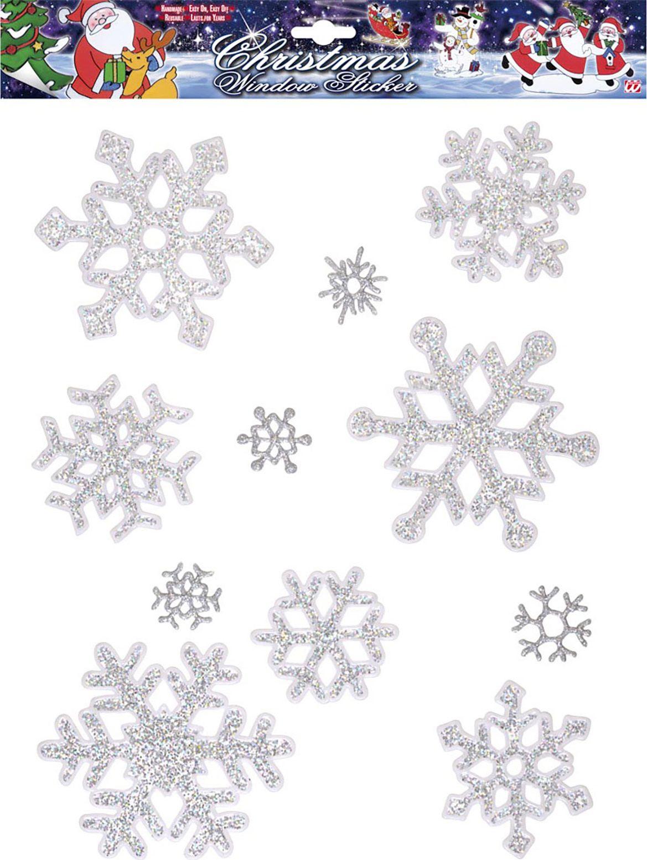 Sneeuwvlok raamstickers