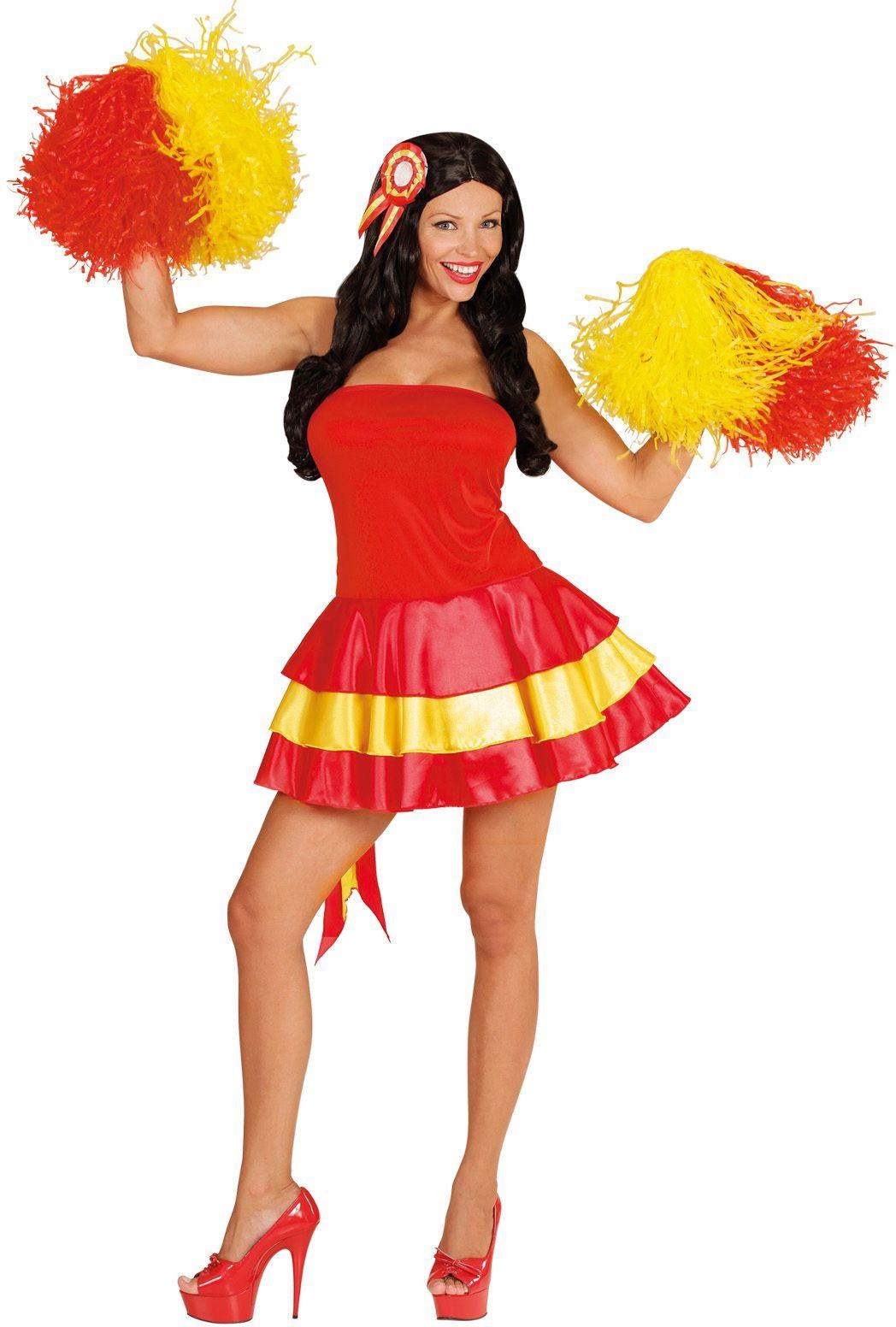 Spaanse cheerleader jurk