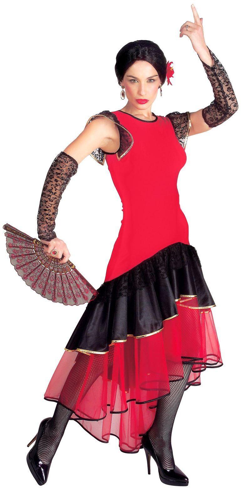 Spaanse flamenco danseres