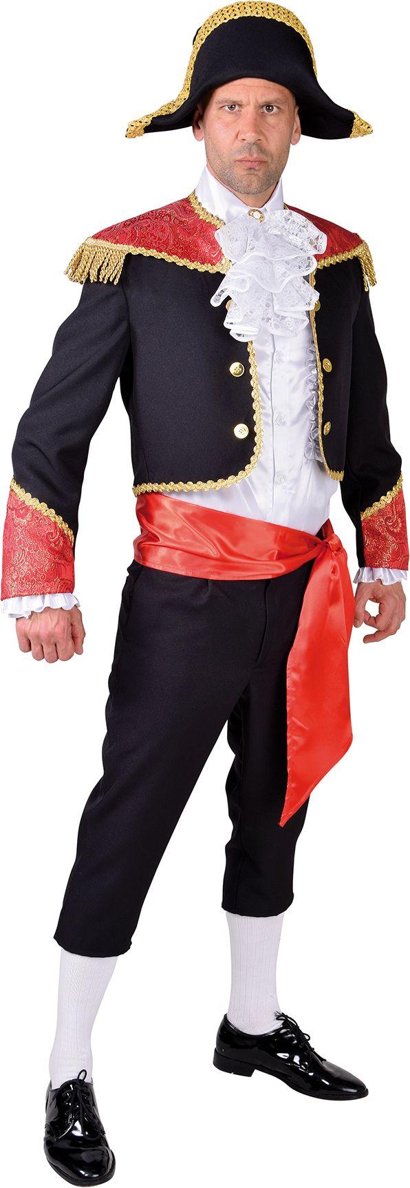 Spaanse matador outfit mannen