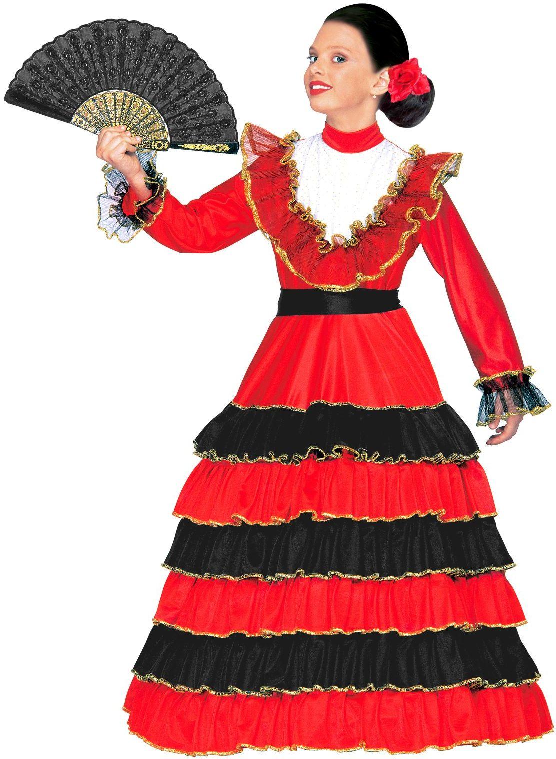 Spaanse señorita kostuum kind