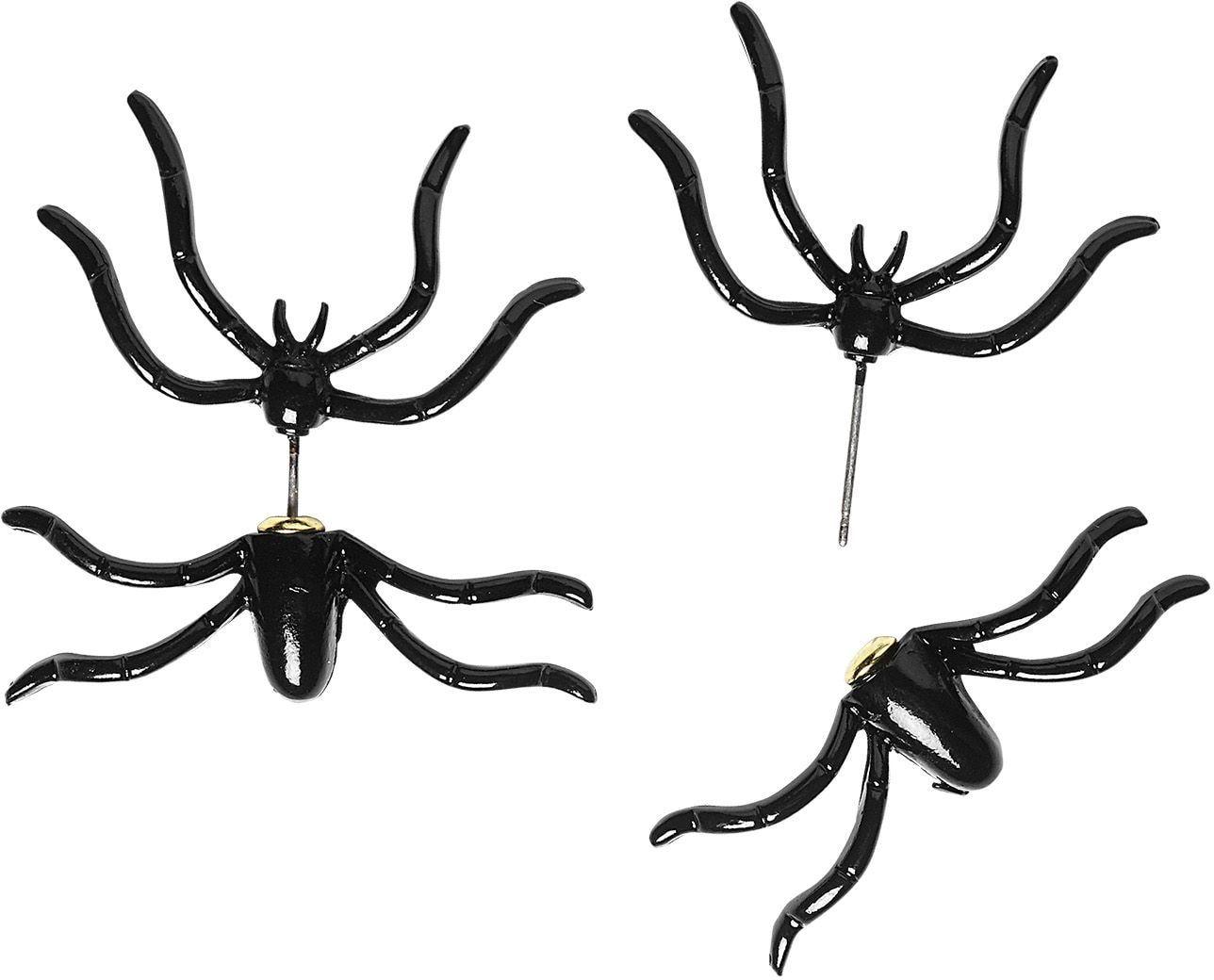 Spinnen oorbellen halloween vrouwen