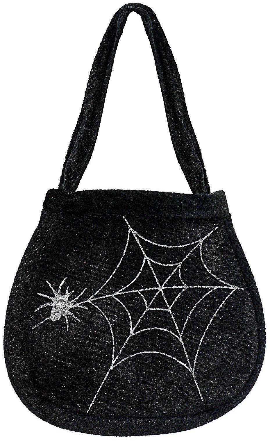 Spinnenweb handtasje