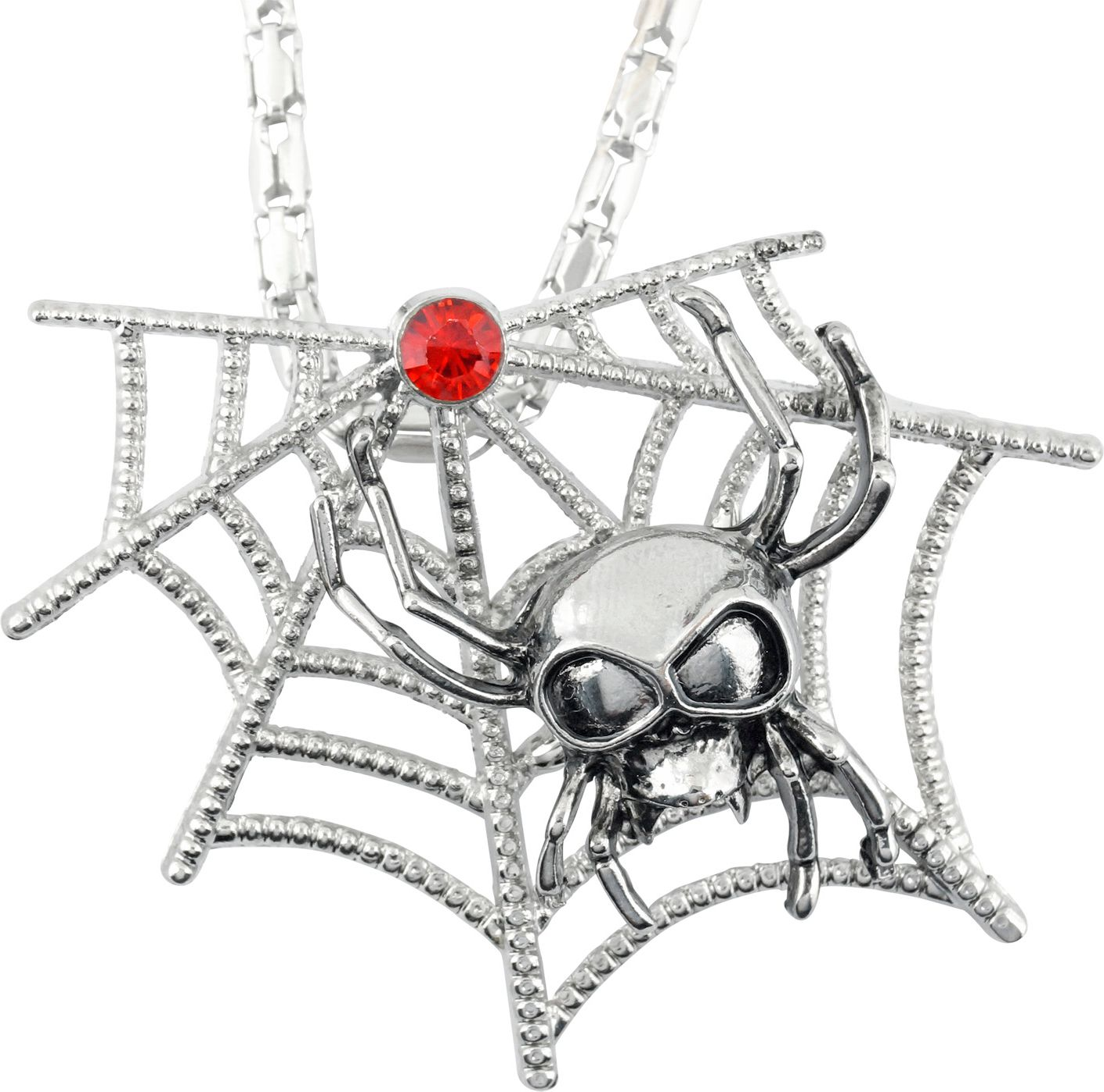 Spinnenweb ketting