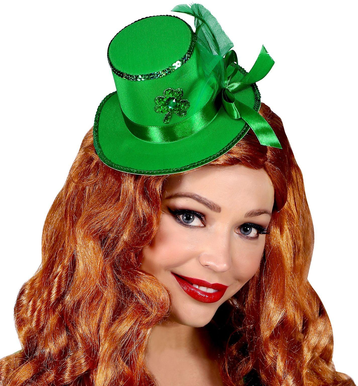 St. Patricks Day haarclip hoedje