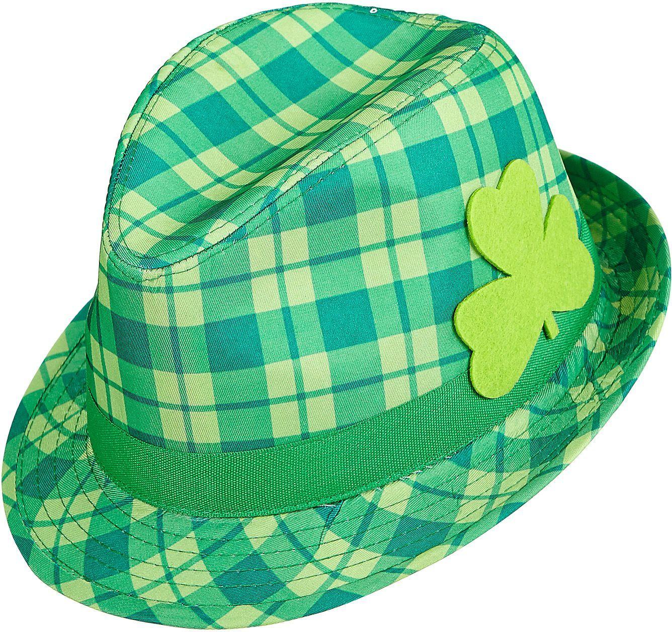 St. Patrick's Day tartan hoed