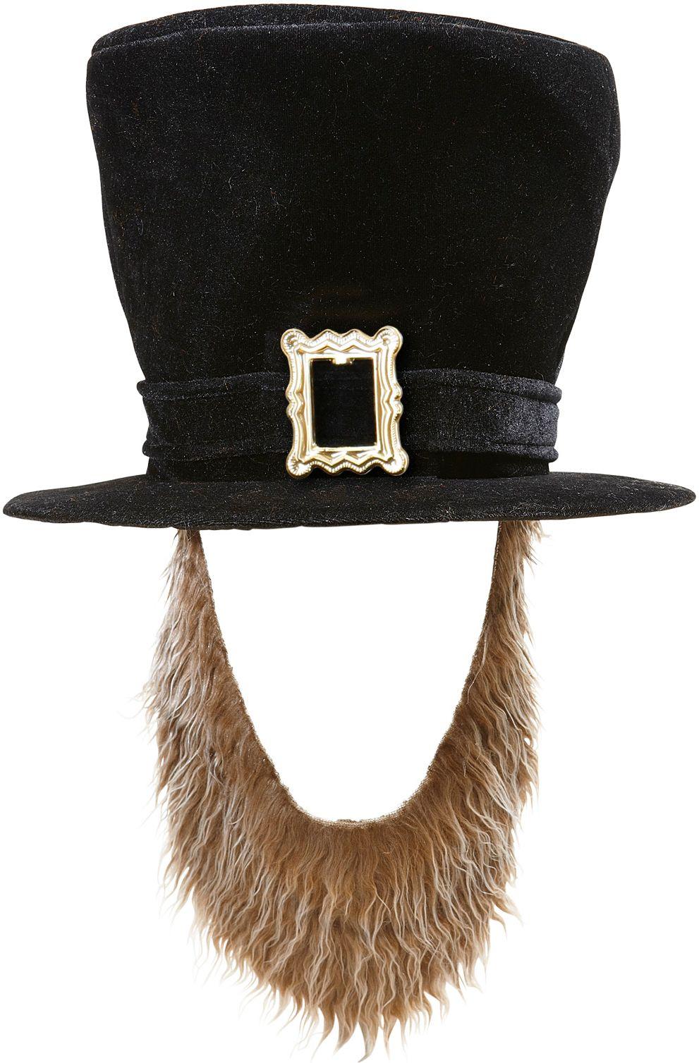 St. Patricksday hoed met bruine baard