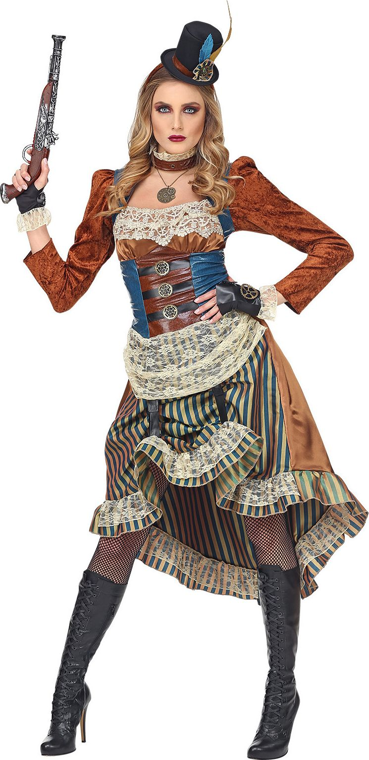 Steampunk outfit dame