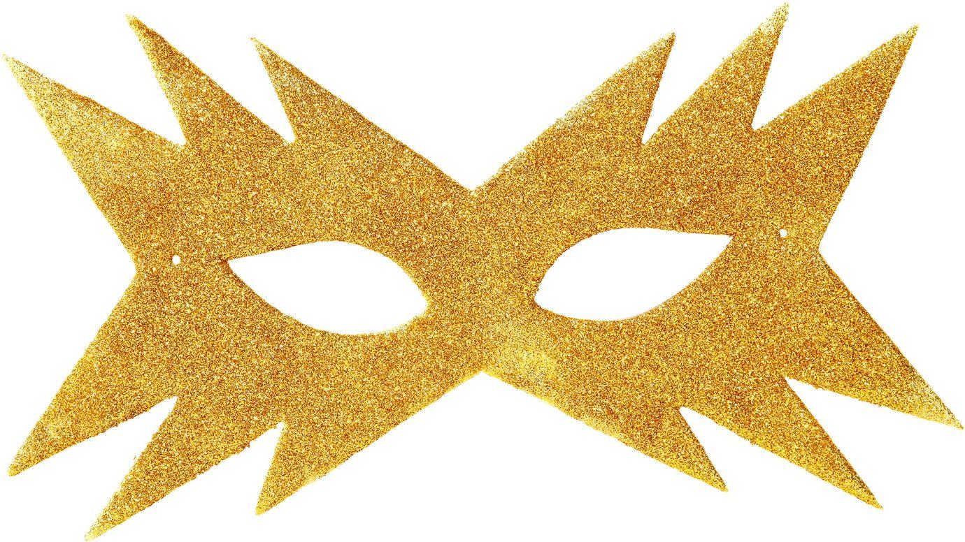 Ster oogmasker goud