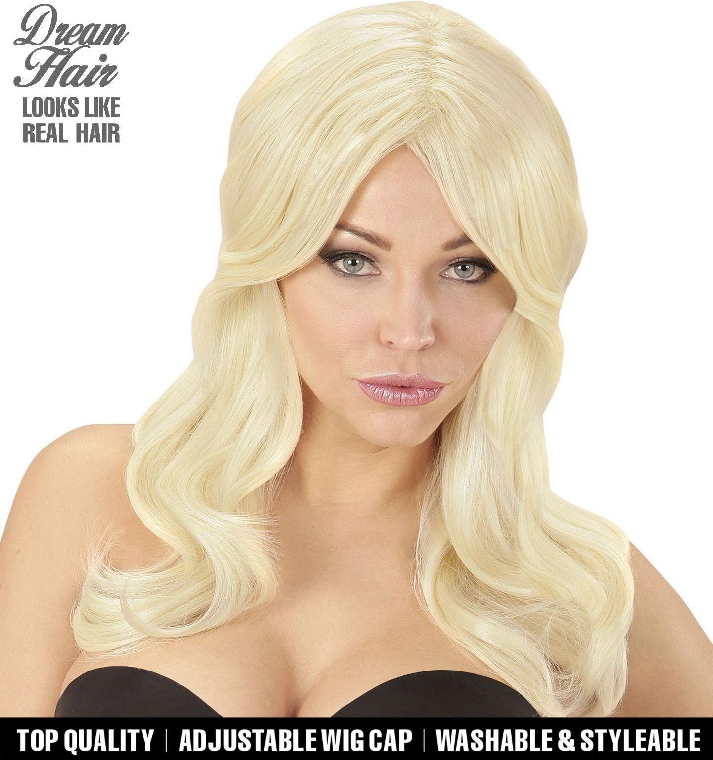 Sterren pruik blond