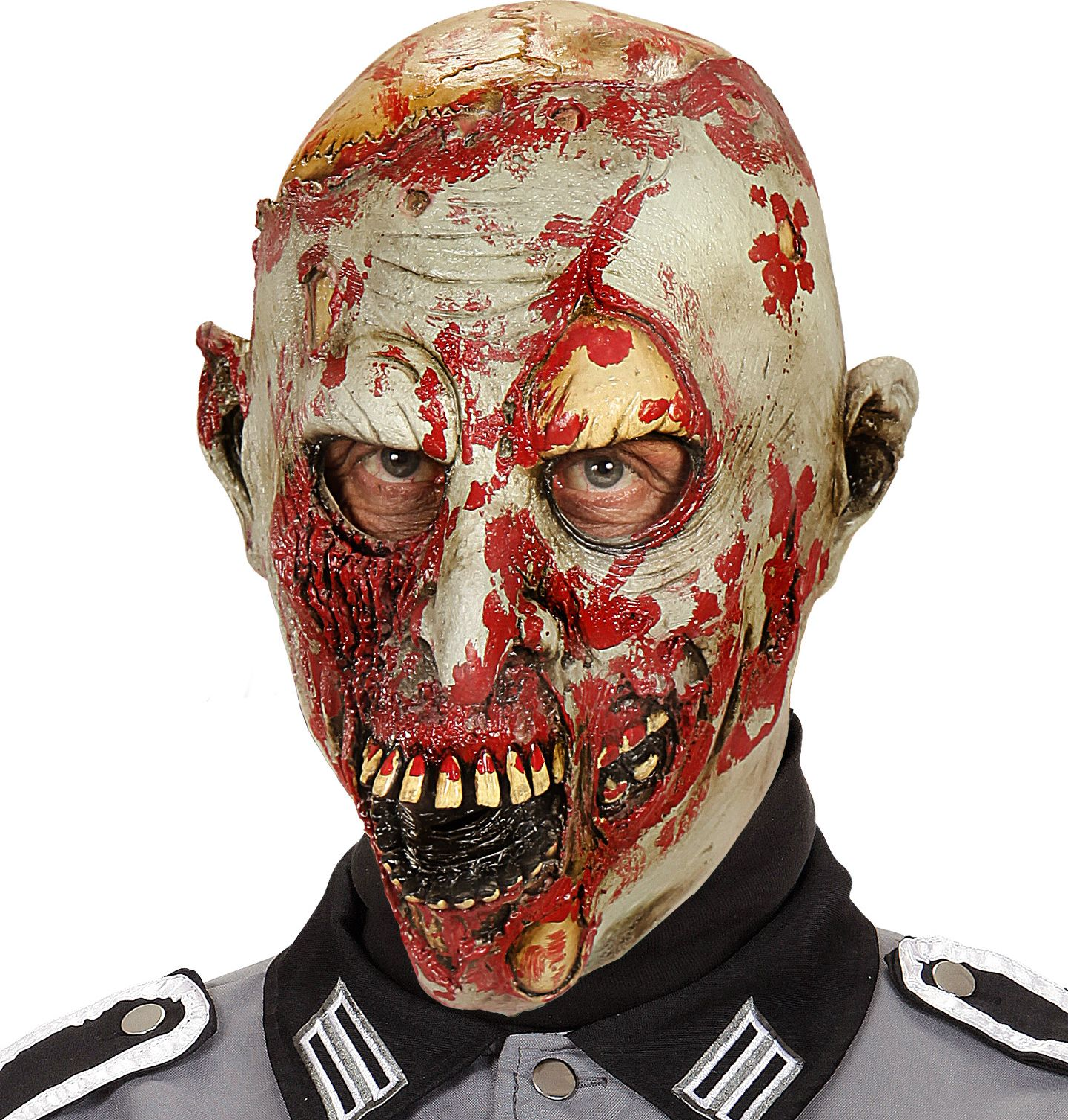 Stervende zombie masker