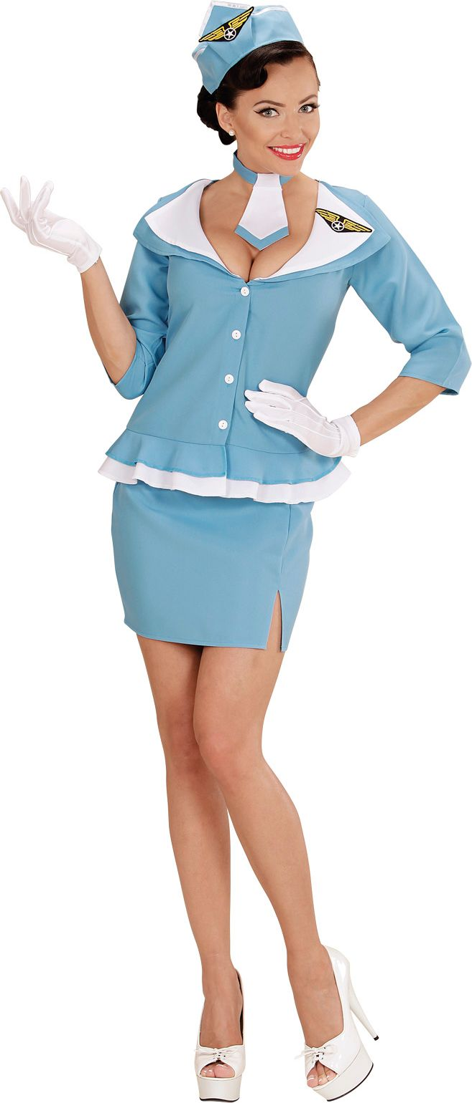 Stewardess pakje carnaval