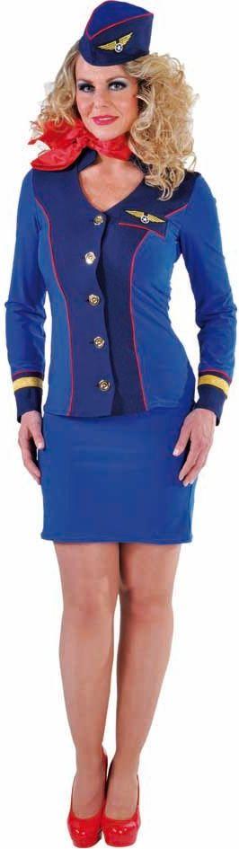 Stewardess pakje dames