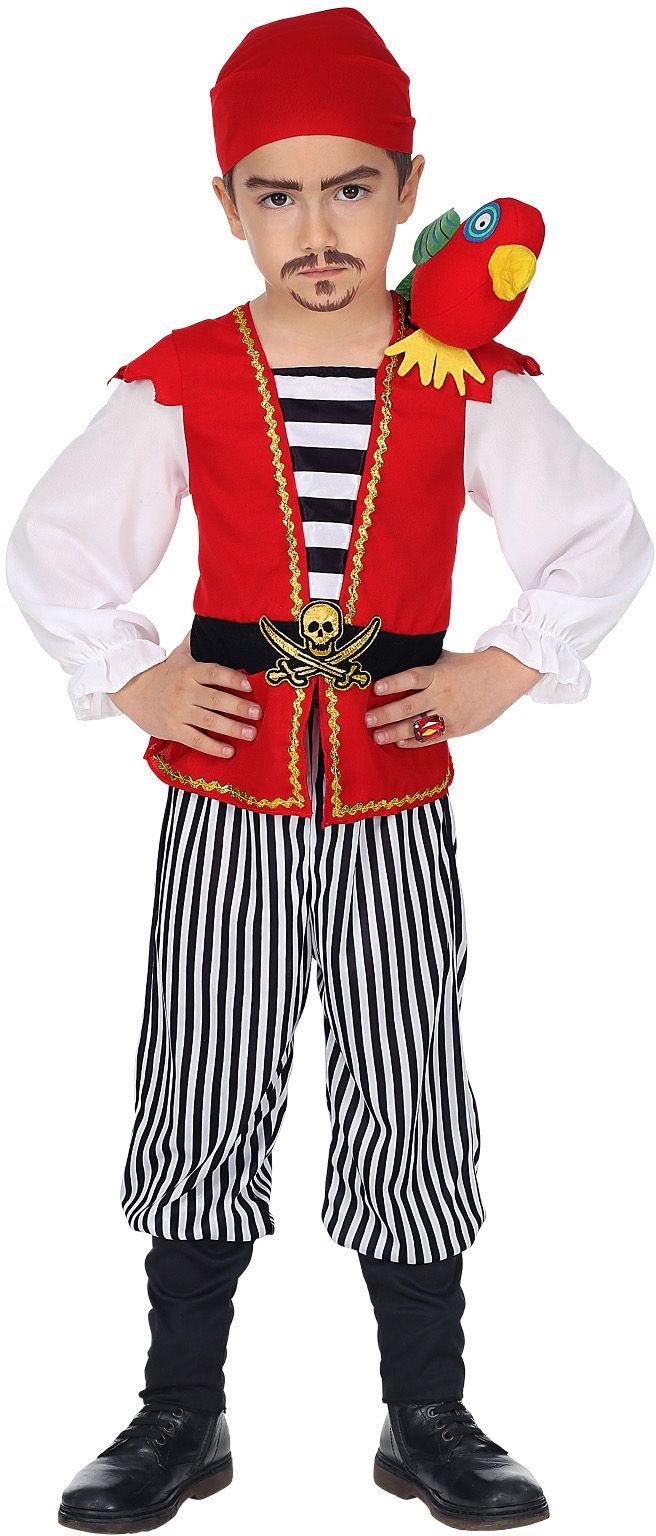 Stoere piraat outfit jongen