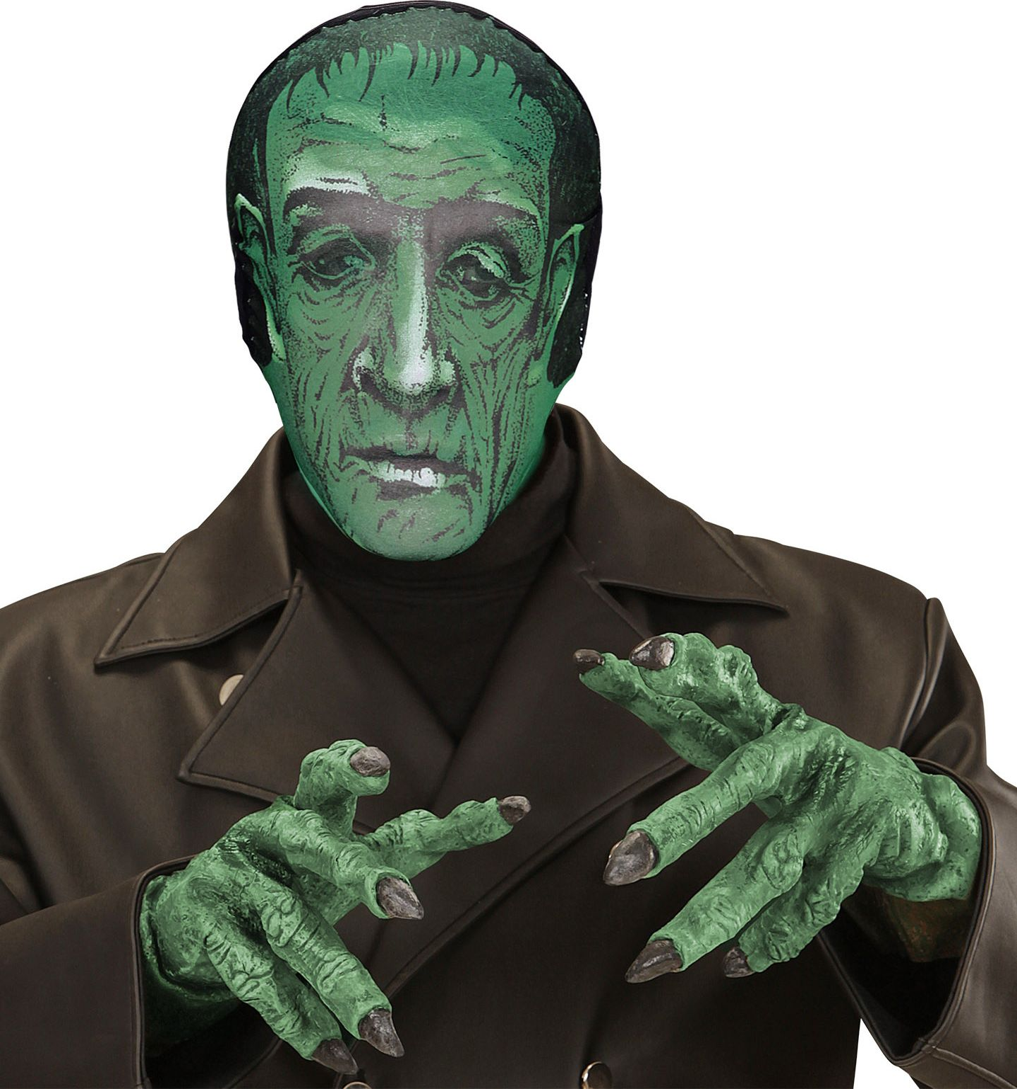 Stoffen frankenstein masker