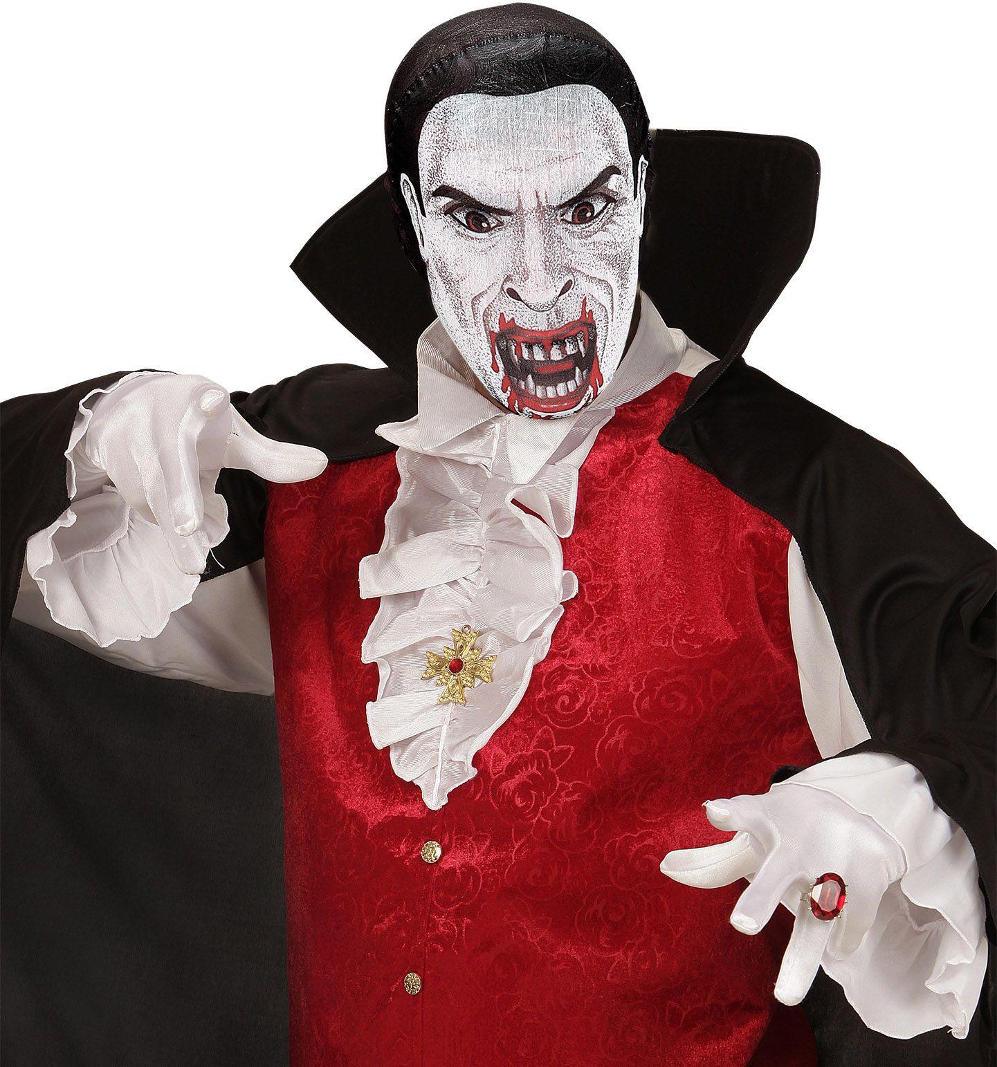 Stoffen vampier masker