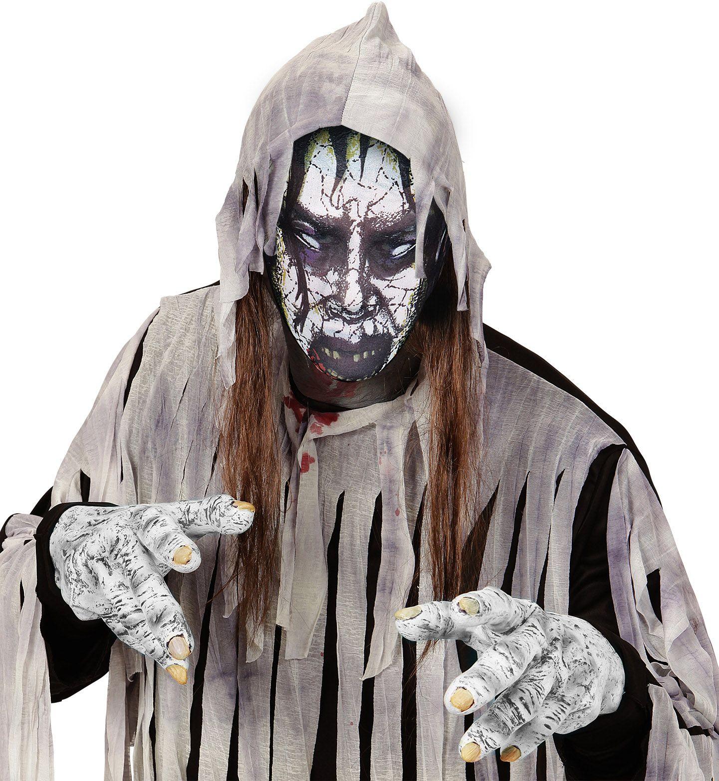 Stoffen zombie masker