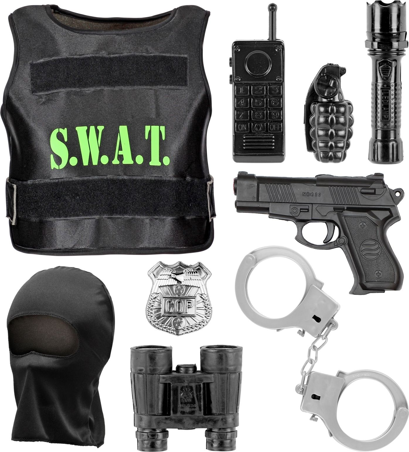 SWAT carnaval kind set